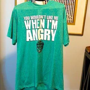 Men's Marvel Comics Hulk T-Shirt Size L EUC